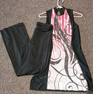 Band front dance/flag outfit